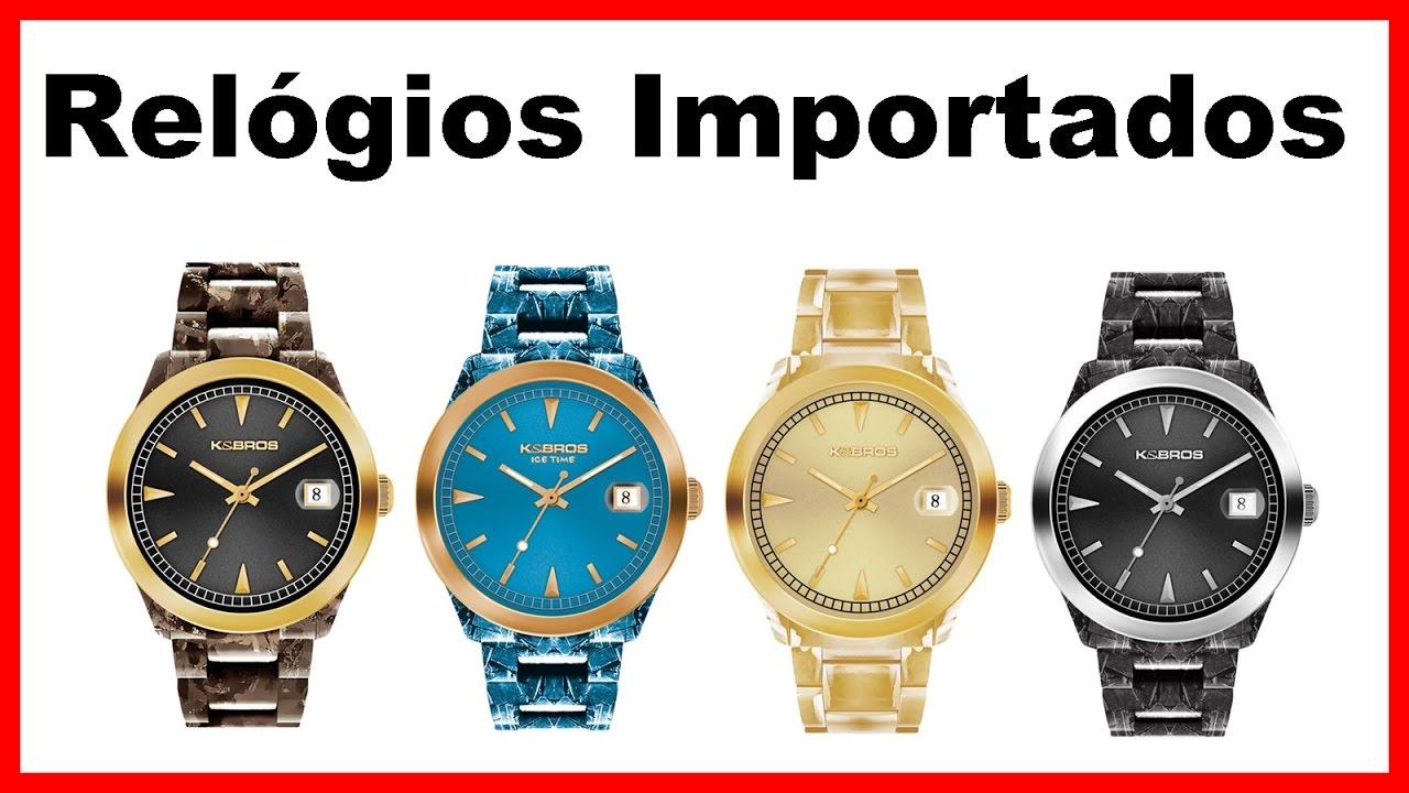 073fb61638a Revender Relógios Importados no Brasil Compensa   -
