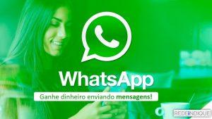 REDE INDIQUE Como Trabalhar de Atendente de Whatsapp Vagas